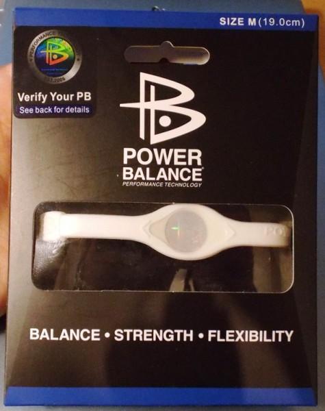 Power Balans упаковка