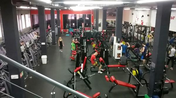 Мой новый спортивный зал