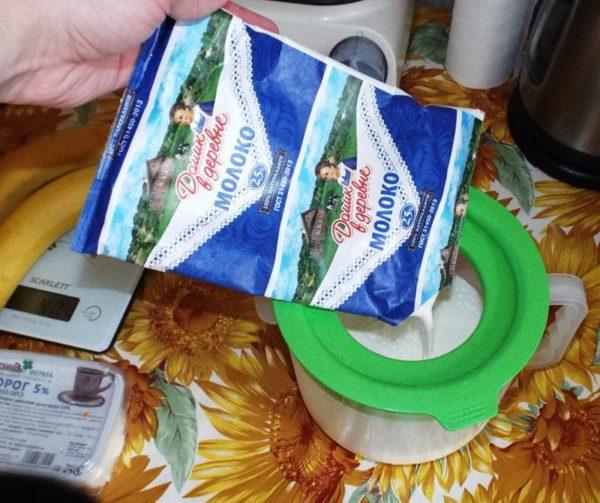 молоко источник белка
