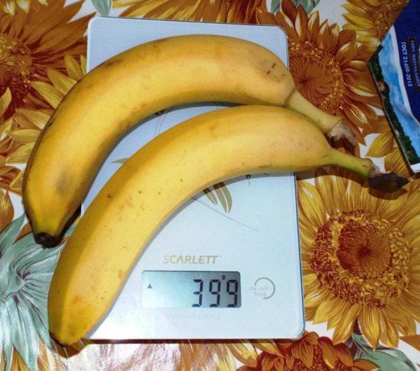 бананы для вкуса