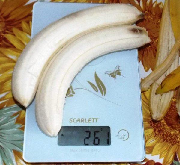 бананы источник углеводов