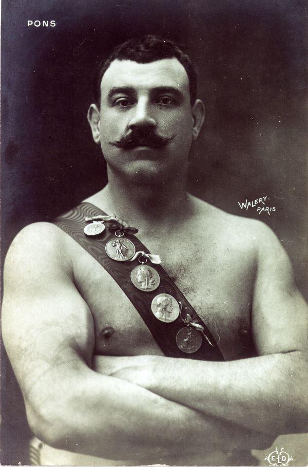 Поль Понс Чемпион Мира по борьбе