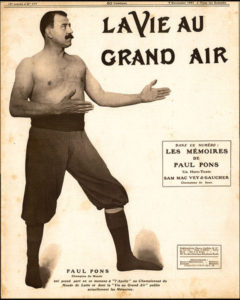 Поль Понс 1907 год