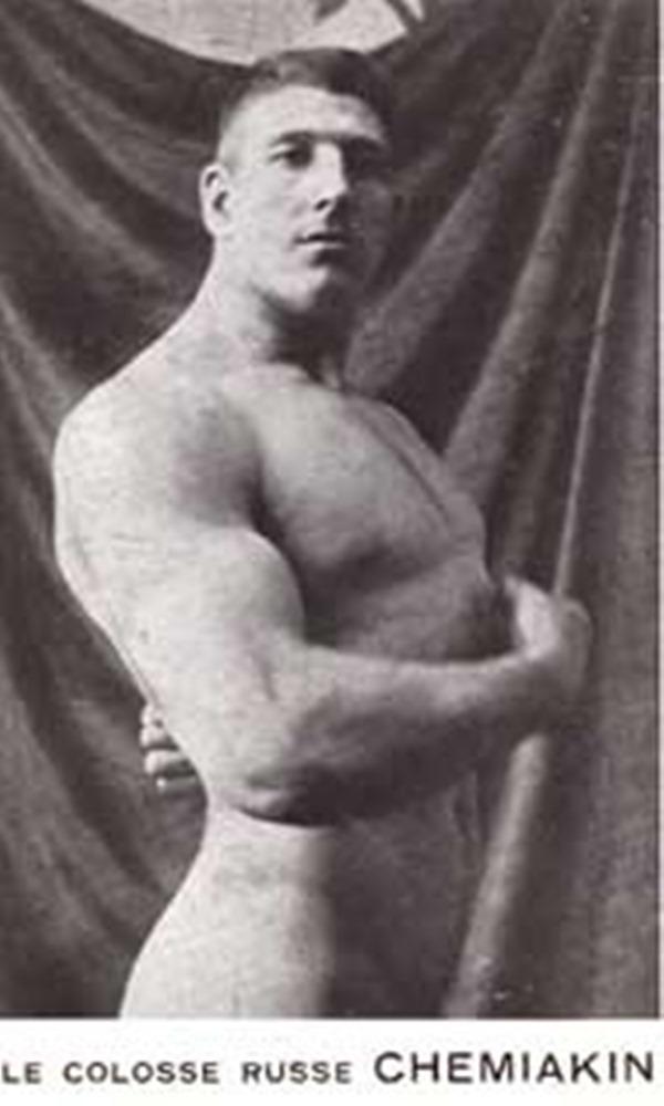 Иван Шемякин силач и борец