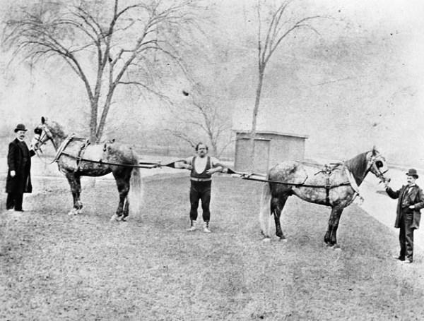 Луи Сир - Удержание лошадей