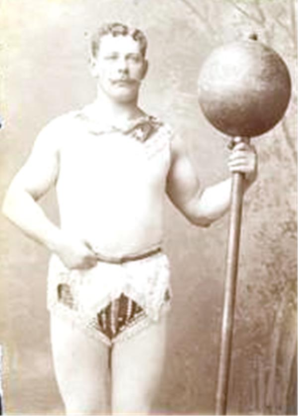 Карл Абс - немецкий атлет