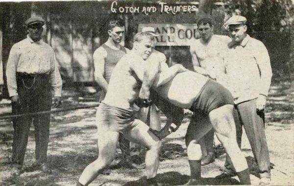Фрэнк Готч на тренировке